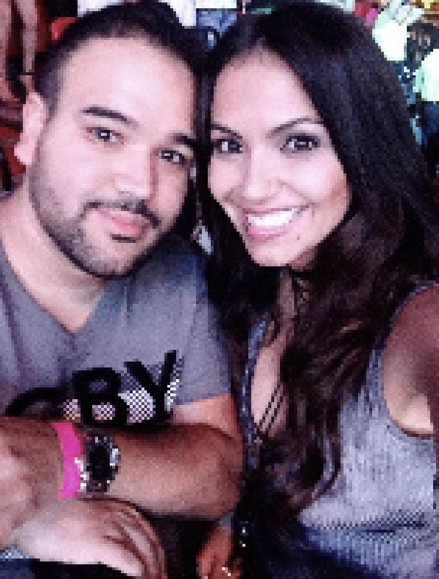 Elmer Hidalgo and Jessica Padilla